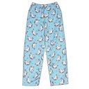 Rainbow Narwhal Plush Pants