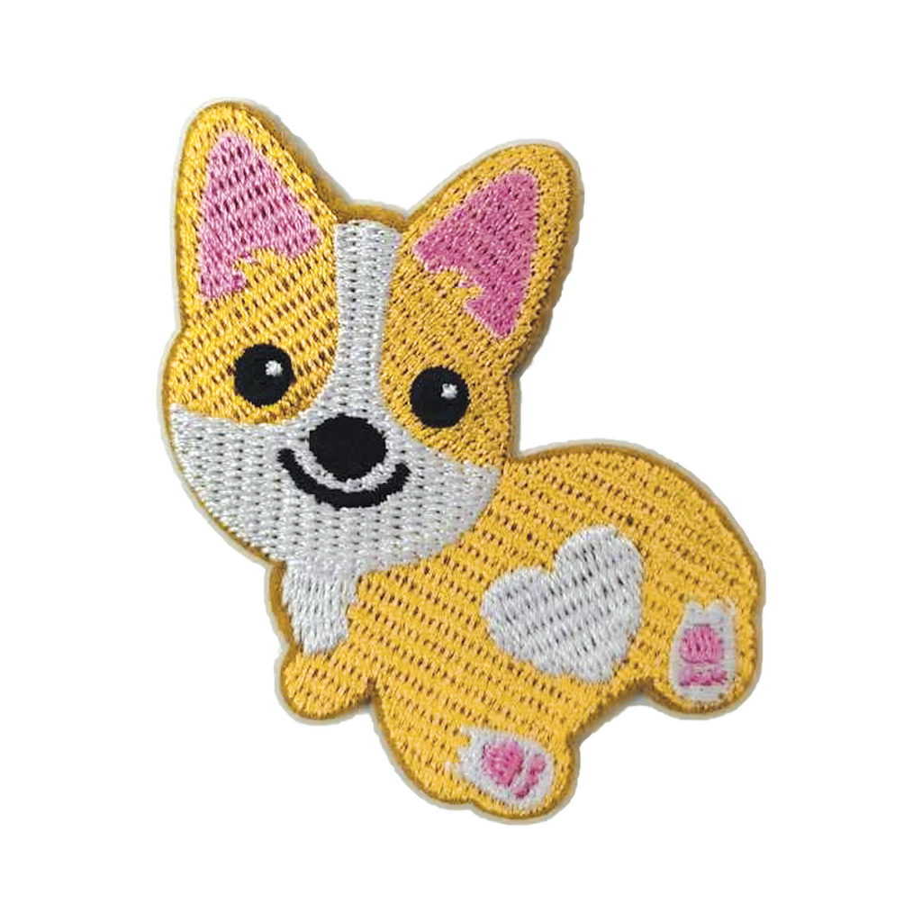 Corgi Embroidered Sticker Patch