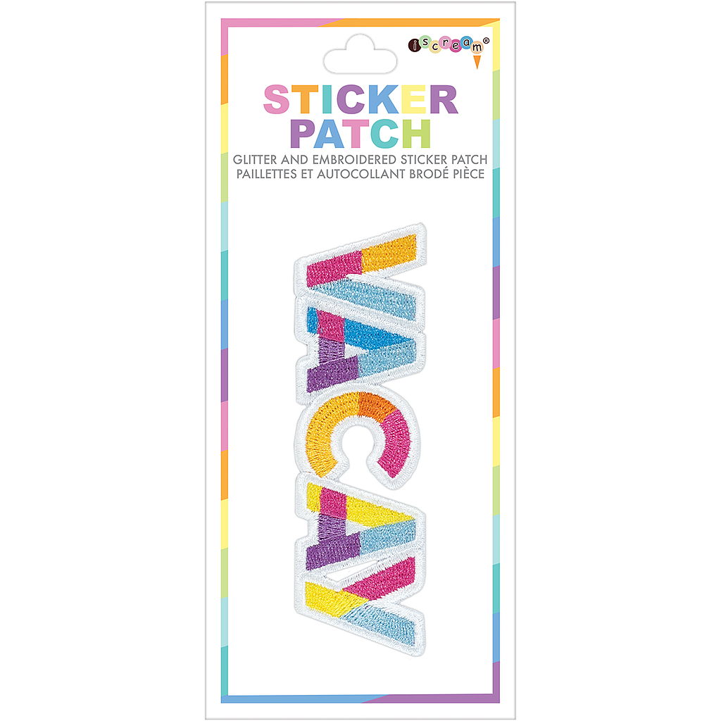 Vacay Embroidered Sticker Patch