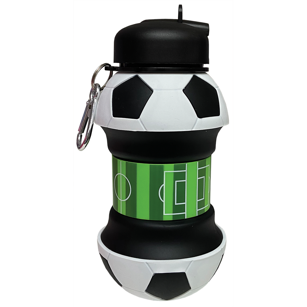 Soccer Collapsible Water Bottle