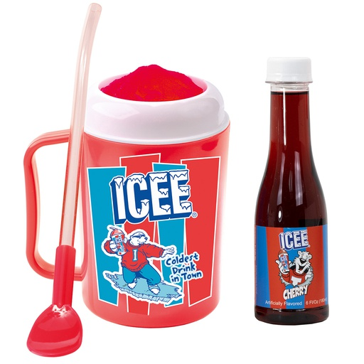 Icee Making Cup and Syrup Set