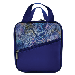 [810-1320] Rainbow Snakeskin Lunch Tote
