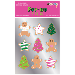 [700-432] Holiday Cookies Pop-Up Stickers
