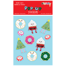 [700-433] Holiday Sweets Pop-Up Stickers