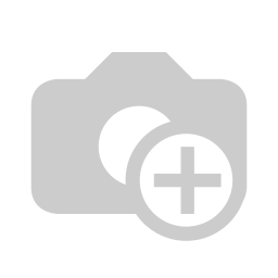 [810-1009] Snow Leopard Large Cosmetic Bag