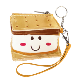 [810-532] Smiley S'more Purse Key Chain